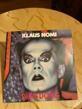 """KLAUS NOMI - """"DING DONG(THE WITCH IS DEAD)""""/""""DEATH""""--7""""45, U.K.IMPORT, LIKE NEW"""