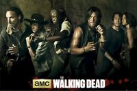 THE WALKING DEAD ~ SEASON 5 CAST 24x36 TV POSTER Norman Reedus Andrew Lincoln