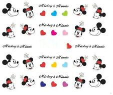 Nail Art Decals Transfers Stickers Minnie Mouse (A-376)