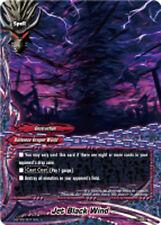 Buddyfight x 4 Jet Black Wind [D-BT02/0071EN U] English Mint Future Card