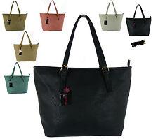 Damentaschen aus Kunstleder mit Fächern und Reißverschluss