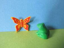 Playmobil 6173 Schmetterling + grüner Frosch zum See Teich 5300 5305 4250 3965