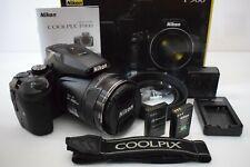Nikon COOLPIX P900 16MP 83x Optical VR Super Zoom Lens Digital Camera..EXTRAS..!