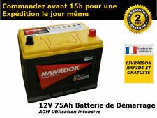 12V 75Ah Batterie de Loisirs et Coupleur de Batterie Cyrix Pour Camping Car