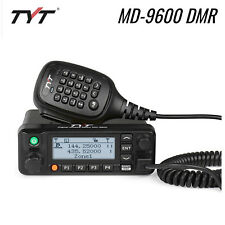 Tyt Md-9600 Dmr Dual Band V/Uhf 50W 3000Ch Tdma Lcd Car Mobile Radio Transceiver