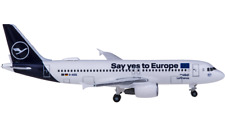 1:500 Herpa Lufthansa AIRBUS A320 Passenger Airplane Diecast Aircraft Model