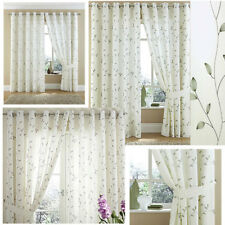 Moda Voile Lined Curtains Eyelet Curtains,2 fabulous colours