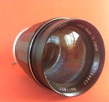 Soligor 135mm F2.8 Lens For Minolta MD Mount, Manual Focus - FUNGUS