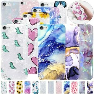 UK Popular Marble TPU Case Shockproof Cover For Apple iPod Touch 5th 6th 7th Gen