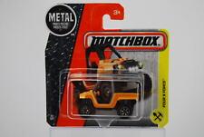 MATCHBOX 2016 FOUR X FORCE short card 54/125 DVN78 NEW