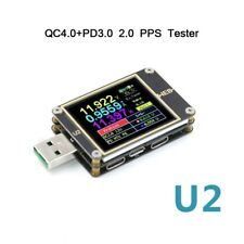 WEB-U2USB Current / Voltage Meter QC4+ PD3.0 2.0 PPS Fast Charge Protocol Tester