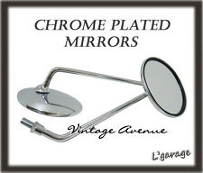 *HONDA CB500 CB550 CB600 CB650 CB700 CB750 CB900 MIRROR 1PAIR *CHROME*[10/16MM]
