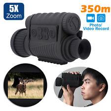Lshine LS-650 Night Vision Sight Monocular Still&Video Capture Digital 6x50 DVR