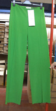 Joseph Ribkoff UK 10 Gorgeous Apple Green Front Zip am/pm Trousers