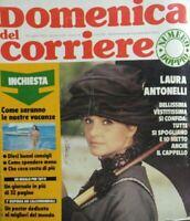 DOMENICA DEL CORRIERE N.28 1974 LAURA ANTONELLI
