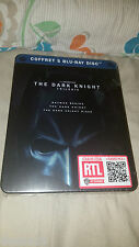 The Dark Knight Trilogy Blu-ray 5-Disc Boxset Steelbook Collector Edition Sealed