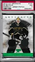 2012-13 Upper Deck Artifacts Dual Jerseys # 107 Ed Belfour Stars PSA 7 NM