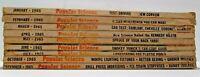 Popular Science Magazines 1965 Vintage Lot Paperback