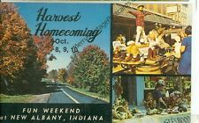 NEW ALBANY INDIANA HARVEST HOMECOMING 1970  VINTAGE (JL7-63)