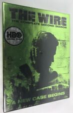 The Wire - The Complete Second Season (DVD, 2005, UNOPENED, 5-Disc Set)