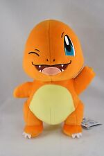 "Pokemon Winking Charmander 11"" Plush BANPRESTO from Toreba Crane Machine"