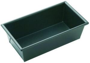 MasterPro N/S Box Sided Loaf Pan Black External 25.5x17x12cm/Internal 24x16x12cm