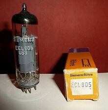 ECL805  Electronic Tube Triode-Pentode   Rohre Siemens   NOS   1pcs