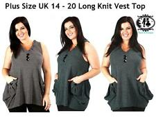 Checked Tank Tops for Women without Fastening