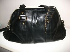 FCUK Ladies Large Black Zip Fastening Handbag