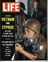 Life Magazine August 21,1964 Vietnam and Cyprus Very Good Condition
