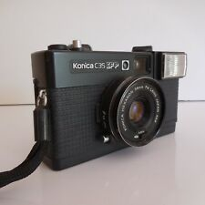 Appareil photo argentique KONICA C35 EFP made in JAPAN design XX PN France N2902