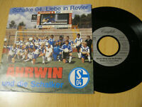 "7"" Single Schalke 04 Liebe in Revier Ährwin Weiss Vinyl 112 720 Confido"