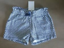 H&M in White Blue Girls Shorts Sz 4-6 NWT