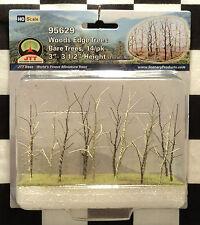 "JTT SCENERY 95629 WOODS EDGE TREES - BARE TREES 3"" - 3 1/2""  HO-SCALE  14/PK"