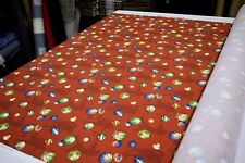 """COVINGTON PLAY BALL RED DESIGNER UPHOLSTERY & HOME DECOR FABRIC 54"""" W BTY"""