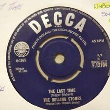 """Rolling Stones(7"""" Vinyl)The Last Time / Play With Fire-Decca-F 12104-UK-Ex/Ex-"""