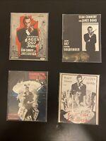 James Bond 007 S. Connery Bundle Of 4x Original Dutch Programs