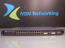 Dell PowerConnect 3024 8H424 24-Port 10/100 Managed Switch w/ Rack Ears