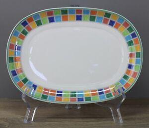 Villeroy & Boch V&B Twist Alea Limone Platte Unterteller für Sauciere 20x14,3 cm