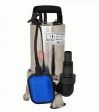 ELETTROPOMPA SOMMERGIBILE INOX 1100 watt - 15000 litri/h - hp 1,5