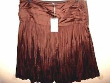 Solid 100% Silk Skirts for Women