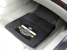 Pittsburgh Penguins NHL 2017 Stanley Cup Champions 2-pc Vinyl Car Mats