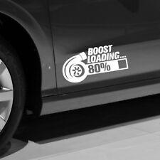 New TURBO BOOST LOADING Car Gift Window Wall Decals Sticker Door Decor Universal