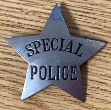 Soo Line Railroad Special Police Obsolete Star Badge (Badge #15)