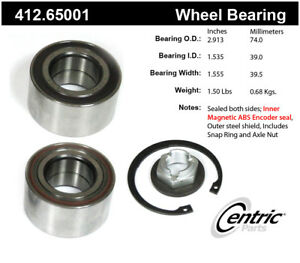 Wheel Bearing-Premium Bearings Front Centric fits 10-13 Ford Transit Connect