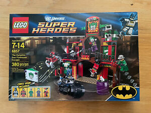 Lego 6857 The Dynamic Duo Funhouse Escape -- DC Super Heroes - NEW, Sealed