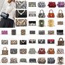 Snake Print Shoulder Bag Women Messenger Handbag PU Leather Crossbody Purse Tote
