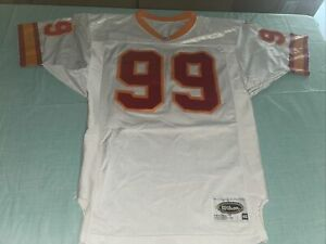 Adult 46 Wilson Tampa Buccaneers Warren Sapp Jersey Pro Line Orange Authentic