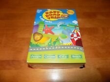 BABY ROAD TRIP JUNGLE CIRCUS CITY BEACH Young Kids Musical 4 Disc DVD SET NEW