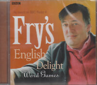 Fry's English Delight Stephen Word Games CD Audio NEW BBC Radio 4 Language